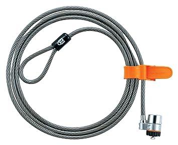 Kensington 64020 - Candado con Llave para Portátiles Microsaver con Cable de Alto Carbono Resistente a