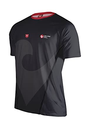 TAYMORY R41-Shop Camiseta Running, Hombre, Negro, S