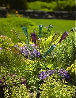 Bottle Bush, Metal Frame Garden Decor