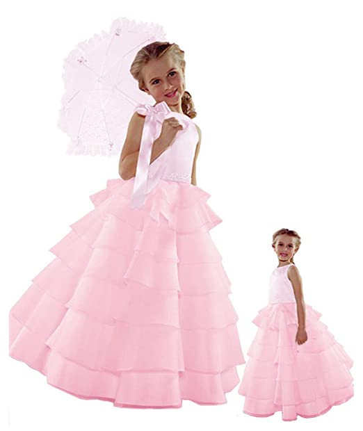 fresh styles where can i buy super specials Sara Lene NWT Flower Girl Pink Wedding Layers Dress
