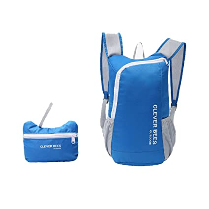 8433a534a3d7 Image Unavailable. Image not available for. Color  Ai.CitYu Lightweight  Folding Backpack Waterproof Travel ...
