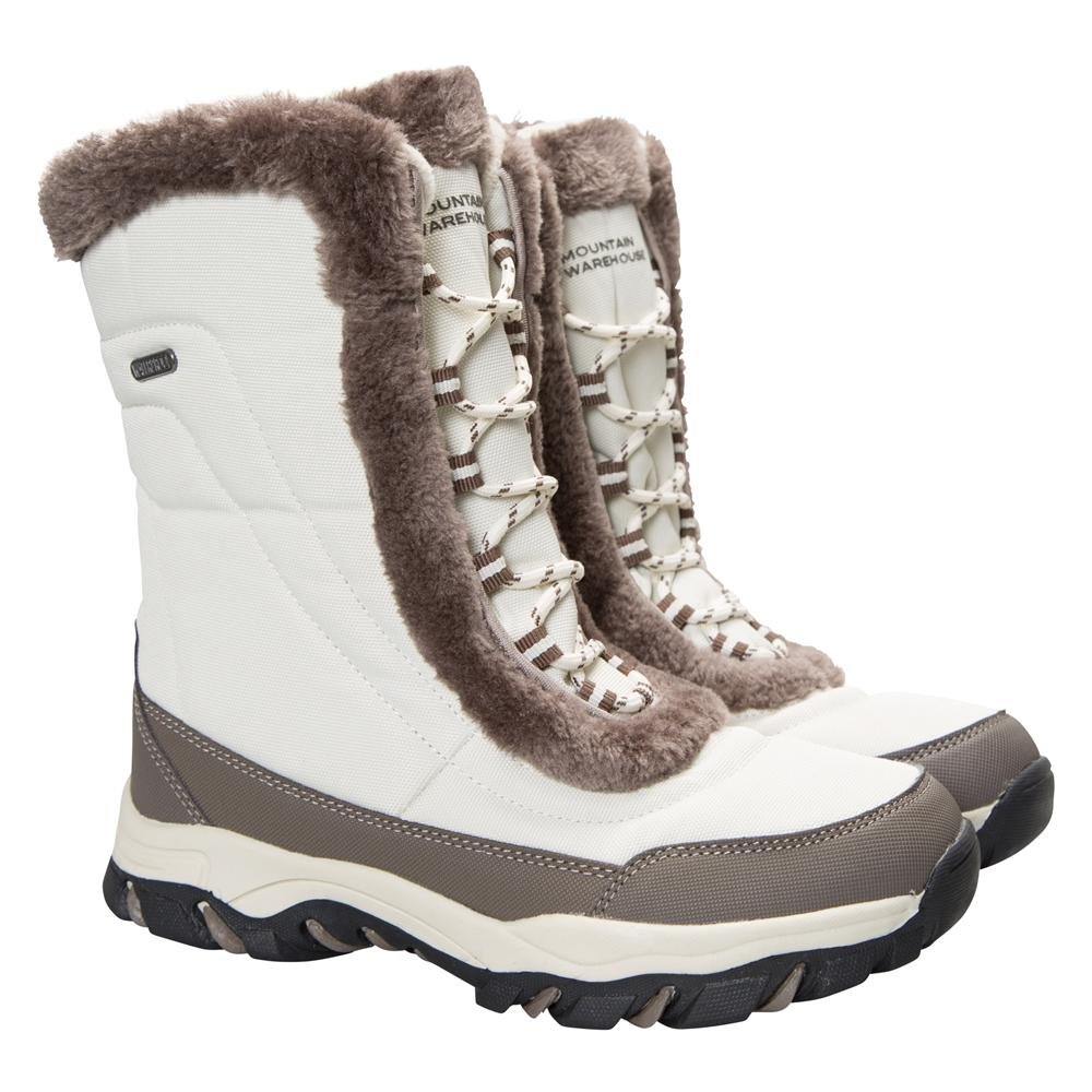 Mountain Warehouse Botas de Nieve Ohio para Mujer37 EU|Beige