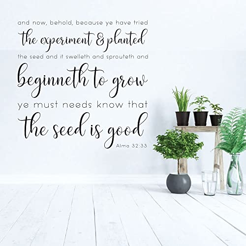 Amazon.com: Christian Wall Decor - LDS Quotes - And Beginneth To ...