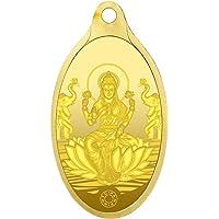 Muthoot Precious Metals Corporation 24 kt 999 Goddess Lakshmi Gold Pendnant - 4 gm