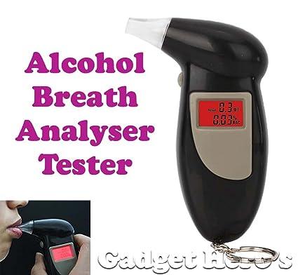 Gadget Hero S Alcohol Breathalyzer Tester Breath Amazon In