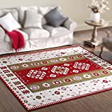 Sunhai Rug Living Room Carpets Coffee Table American Countryside Bedside Bedding Pillow For Easy Washing ( Size : 76150cm )