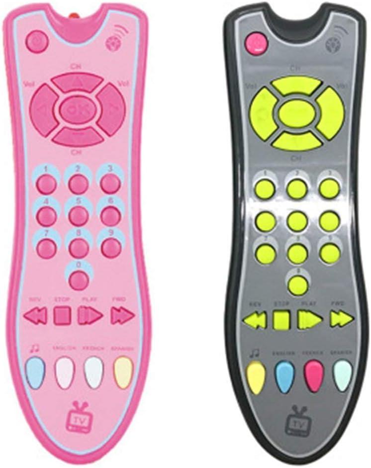 Bebé Control Remoto Juguete Luces de Aprendizaje Control Remoto para bebé Click & Count Juguetes remotos para niño Niña Bebé Bebé Niño pequeño Juguete (ToGames): Amazon.es: Juguetes y juegos