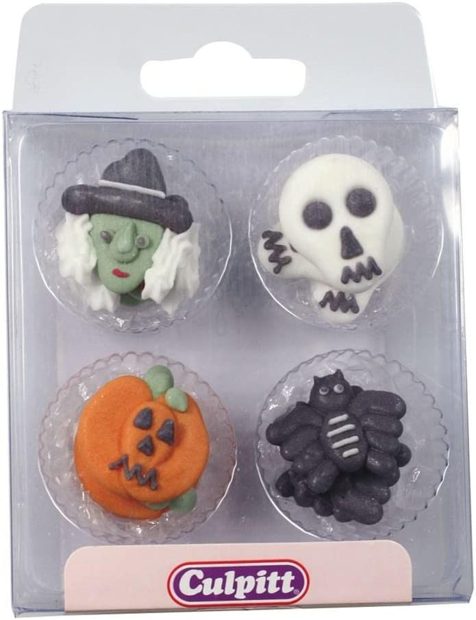 12 pack Halloween Sugar Toppers