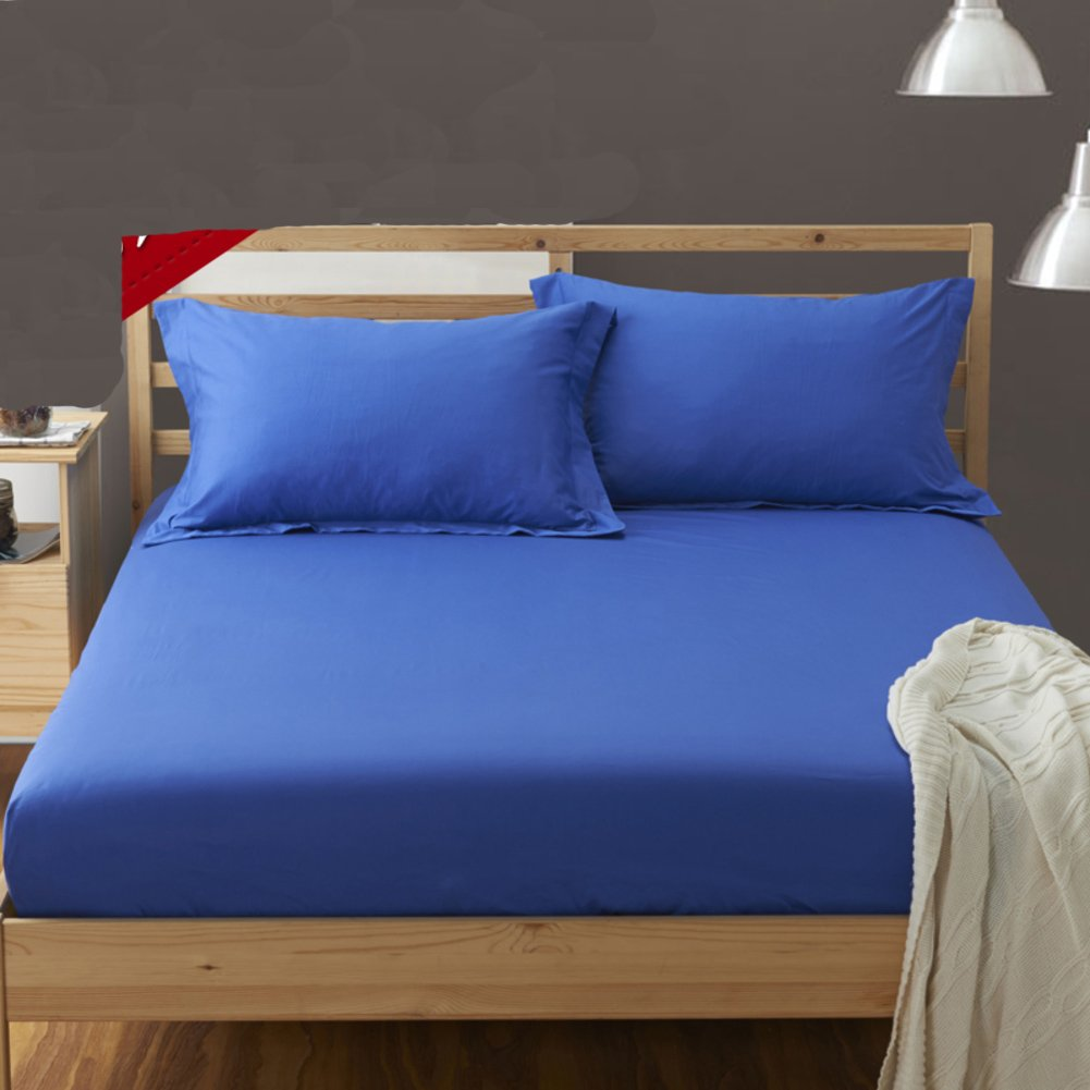 Thickened warm bed sheets,Mattress bed cover bed pads protective case 360° full coverage coverlet queen king-A 100x200cm(39x79inch) HSJIEJIE