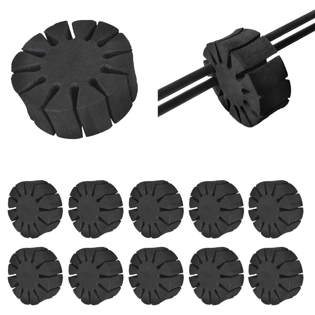 Nero Baoblaze 10x Eva Foam 12 Frecce Separatore Porta Rack Set Archery Accessori