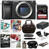 Sony a6300 Mirrorless Digital Camera Body with 32GB SD Card Bundle