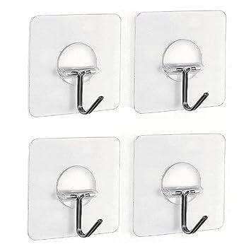 YOUTU Handtuchhaken Haken Selbstklebend Handtuchhalter Bad Und Küche  Kleiderhaken Tür Handtuchhalter Ohne Bohren Badezimmer Haken  Geschirrtuchhalter