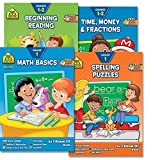 School Zone First Grade Scholar Educational Learning Pack