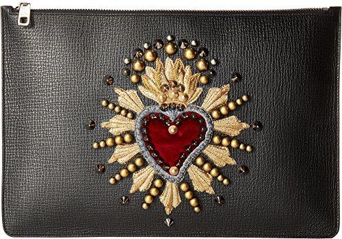 Dolce & Gabbana  Men's Document Holder Black One - Gabbana Dolce Mens Wallet