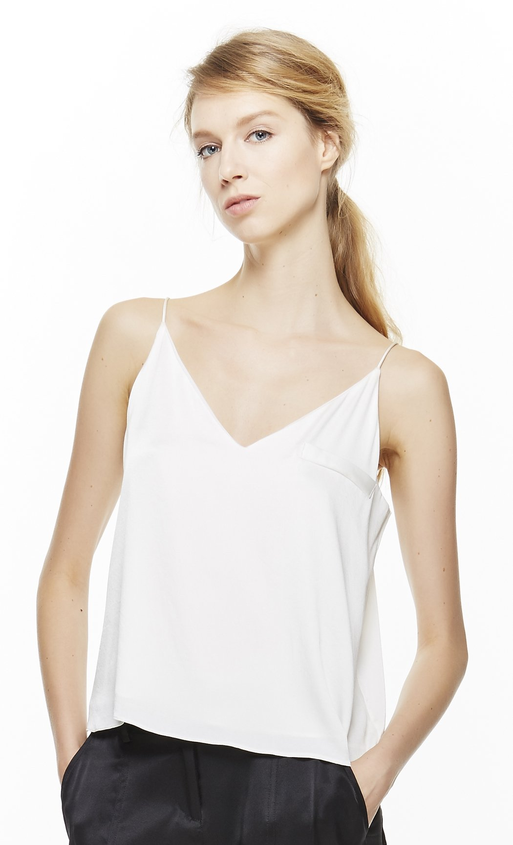 4 Corners of a Circle Women's Camisole Large Off-white by 4 corners of a circle