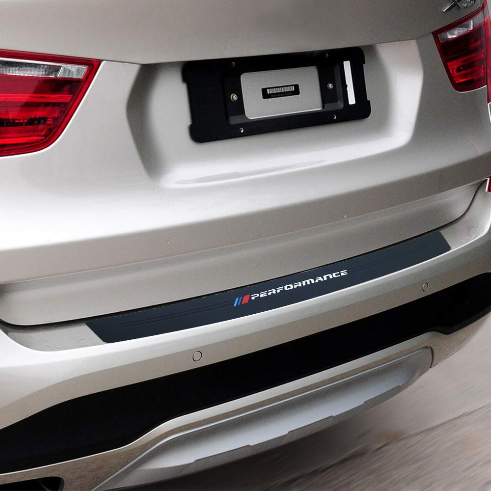 not fit for X3 G01 100CM//39Inch New M Performance Rubber Rear Bumper Guard Plate Protector Sticker For bmw X3 e83 f25 X4 X5 e53 e70 f15 g05 X6 e71 f16 e39 e46 e90 f30 f10 f20 f32 Accessories