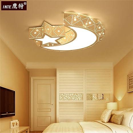 Los dormitorios cama para niños de luz lámpara de techo ...
