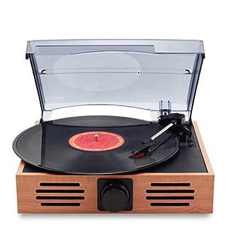 K-DD Reproductor De Discos De Vinilo De Audio Con Tapa, Plataforma ...
