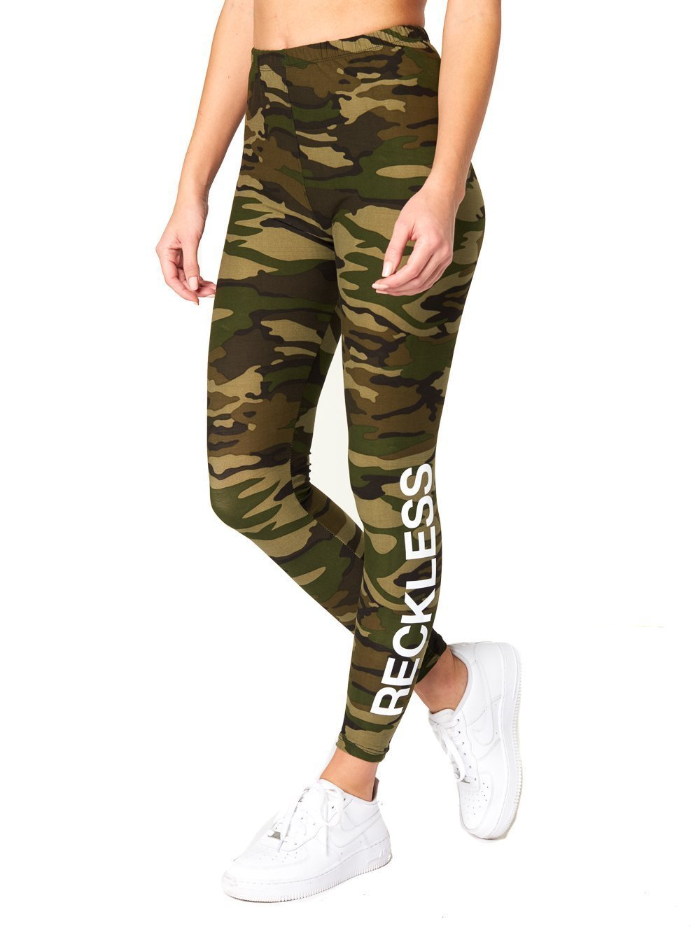 Young Reckless - Romy Leggings - Camo - ONE Size - Womens - Activewear - Leggings - CAMO