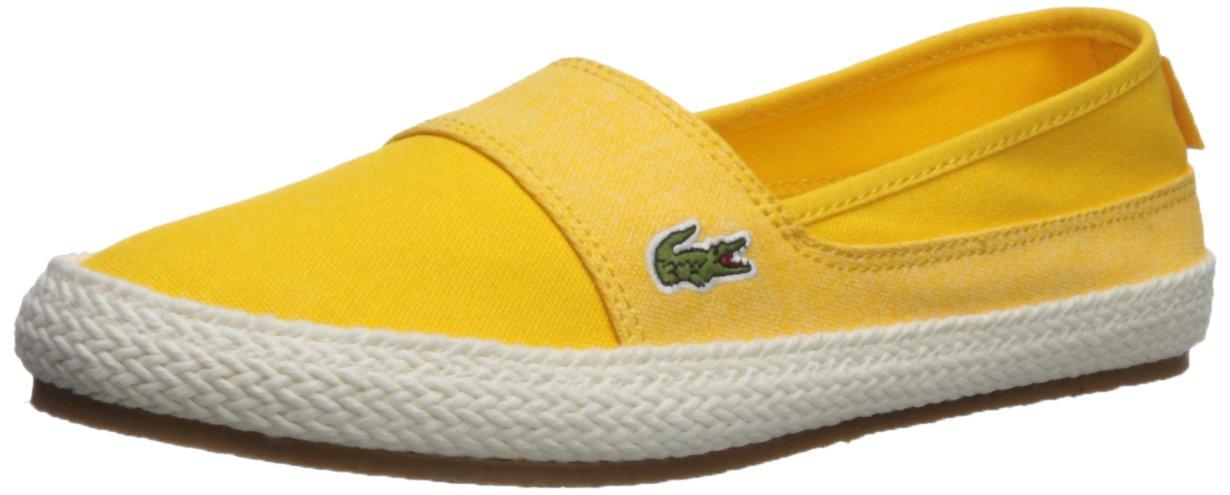 Lacoste Women's Marice Sneaker B074ZWWBVG 9 B(M) US|Yellow Hemp