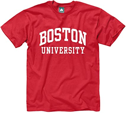 9e9a2154d Ivysport Boston University Terriers Short-Sleeve T-Shirt, Classic, Red,  Small