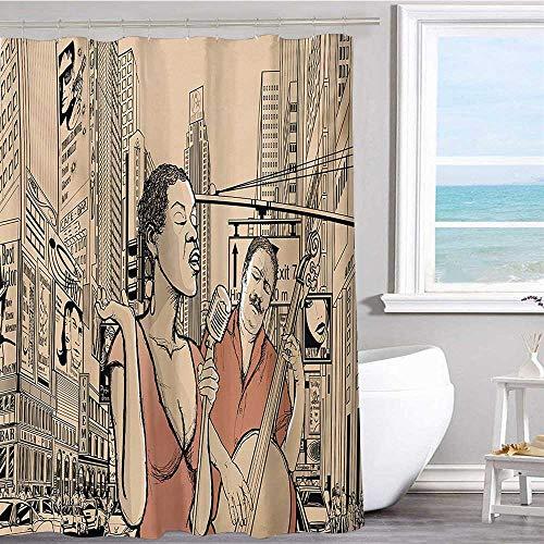 MKOK Pattern Shower Curtain 60