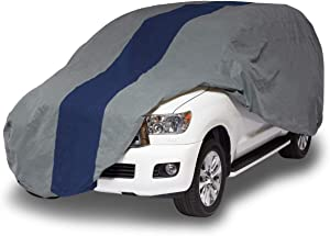 Duck Covers Double Defender SUV Cover for SUVs/Pickup Trucks with Shell or Bed Cap up to 17' 5""
