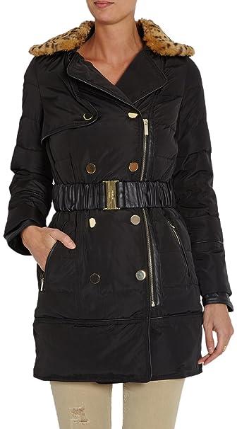 Morgan 142-GTOP.N, Abrigo para Mujer, Noir, Talla Francesa (