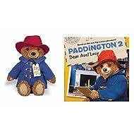 YOTTOY Paddington Bear Movie Teddy Bear with Paddington 2 Dear Aunt Lucy Book