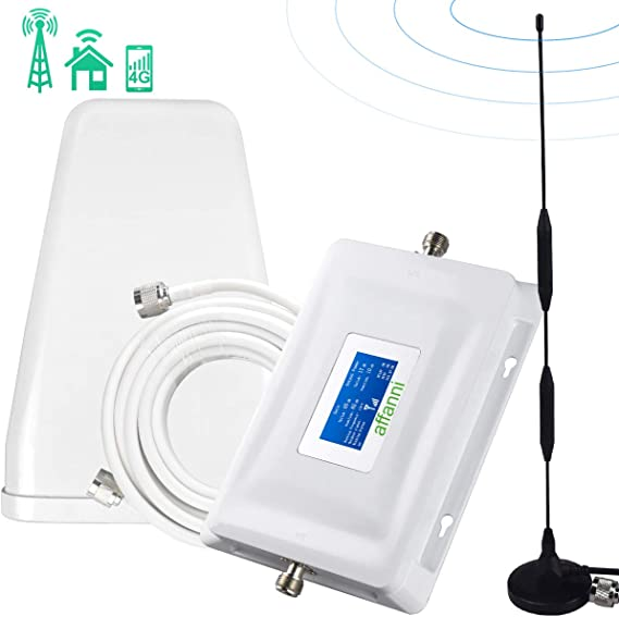 Cell Phone Signal Booster 4G LTE Verizon Cell Booster Cell Signal Amplifier Verizon Booster Band 13 700Mhz HJCINTL High Gain 65dB Verizon Mobile Phone Signal Booster for Home and Office Use