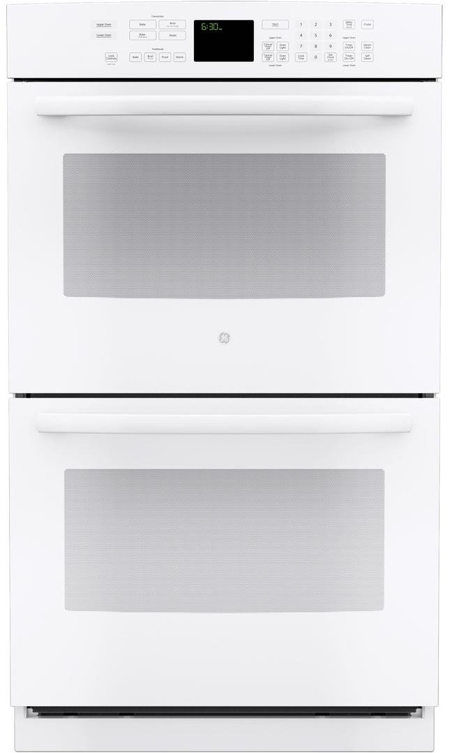 GE PT7550DFWW Electric Double Wall Oven by GE