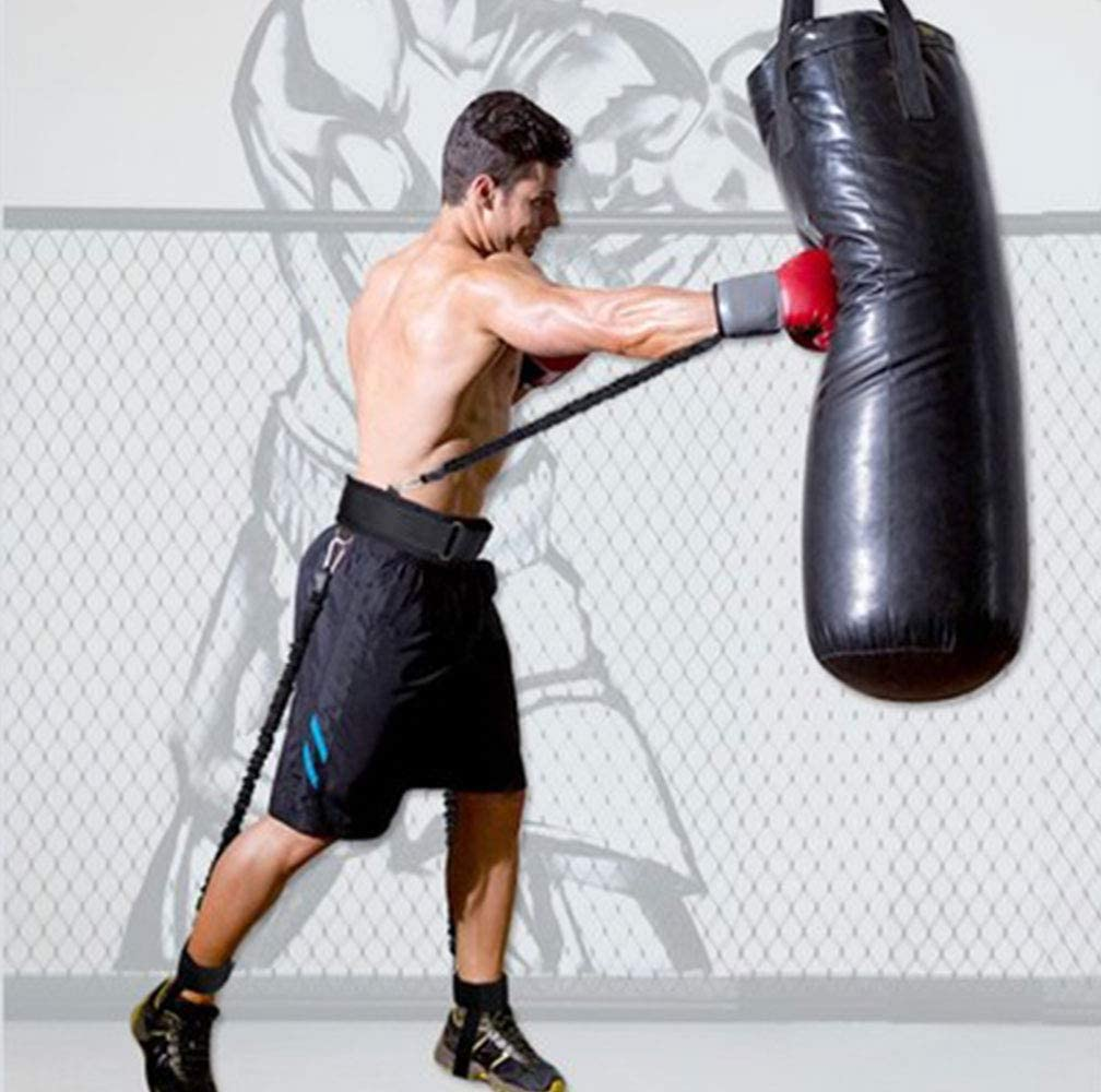 Noir Duo Boxe Muay Thai MMA Sports d/'hiver en polaire