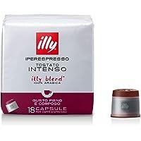 illy Caffè in capsule Iperespresso Tostato Intenso - 6 confezioni da 18 capsule (totale 108 Capsule)