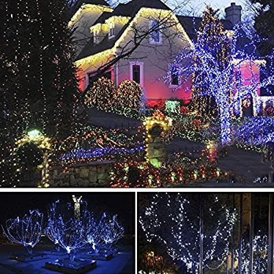 LED Solar Powered String Lights-LITFAD 30 Pcs Waterproof Star Shape LED Solar Powered 23ft Multi Color Outdoor Decorative String Light for Outdoor Patio Lawn Landscape Fairy Garden Home Wedding Holiday