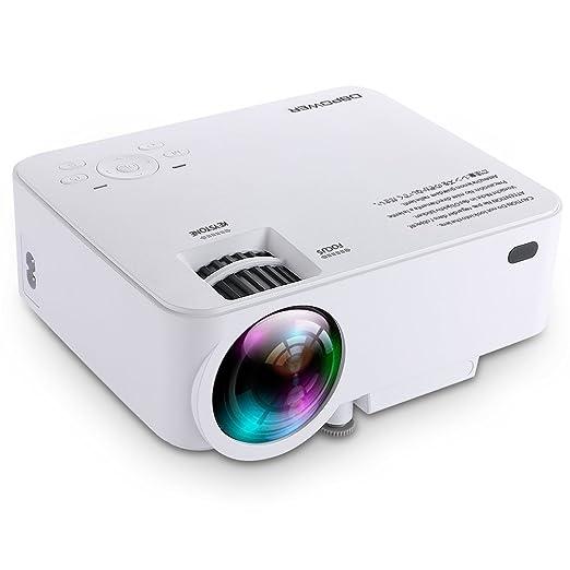 181 opinioni per DBPOWER T20 LCD Mini Proiettore da 1500 Lumen, Proiettore Video Multimedia Home