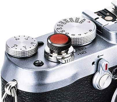 Camera Soft Release Button JJC Shutter Button for Fujifilm X-T30 X-T20 X-T10 X-T4 X-T2 X-T3 X-PRO3 X-PRO1 X-PRO2 X100V X100S X100T X100F X30 X20 X-E3 X-E2S RX1R RX10 II III IV Leica M10 M-E M-P
