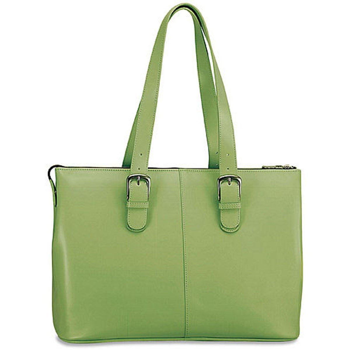 Jack Georges Milano Madison Avenue Business Tote 3902 (GREEN)