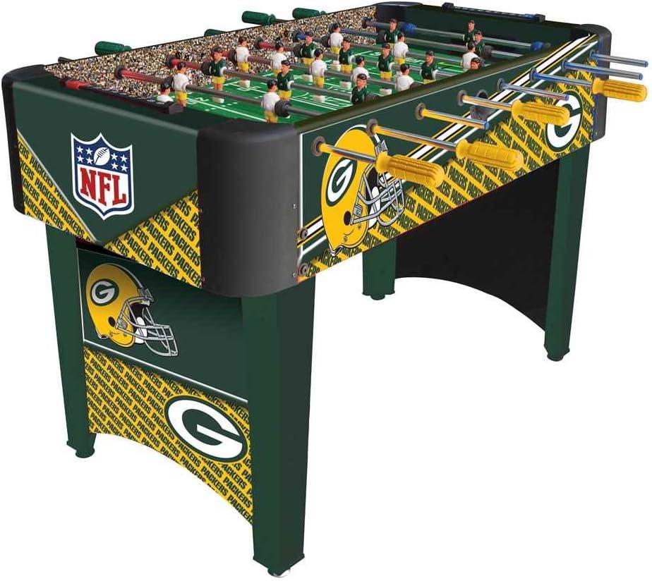 Imperial NFL verde Bay Packers equipo futbolín: Amazon.es ...