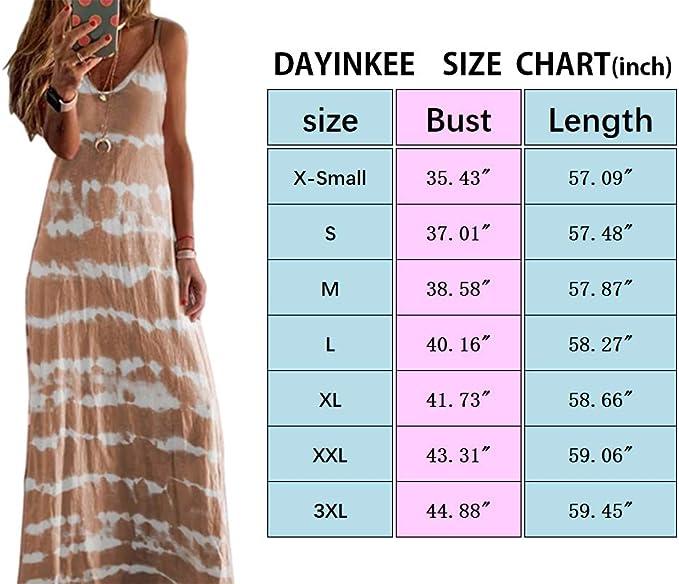 BNWT Womens Size 8,10,12 Sunday Beach Party Casual Tie Dye Maxi Dress