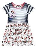 Disney Girls' Minnie Mouse Dress Size 7 White