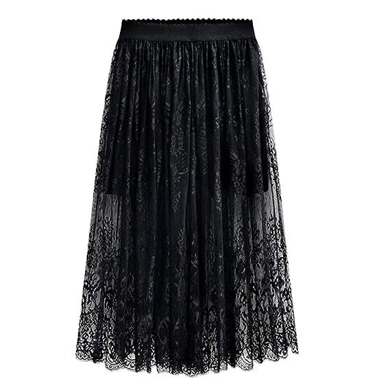Vectry Falda De Tul Fiesta De Tutú para Mujer Plisadas Faldas ...