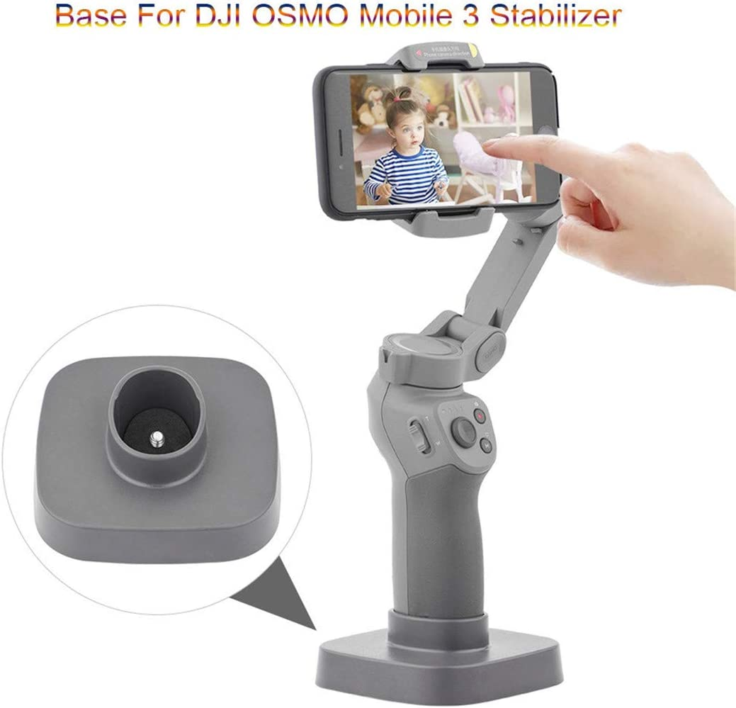 Freeby Compatible with DJI OSMO Mobile 3 Stabilizer 3-Axis Handheld Gimbal Stand Base Mount