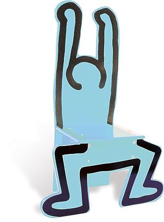 Amazon.com: Vilac – Silla de madera, color azul: Baby