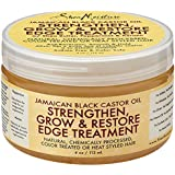 Shea Moisture Grow And Restore Edge Treatment 4oz Castor Oil