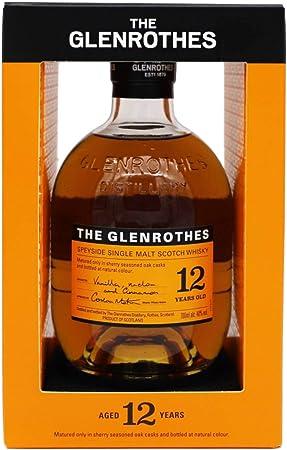The Glenrothes 12 Años Single Malt Whisky Escoces, 40% - 700 ml
