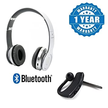 64e01bceff3 Drumstone Voyager Stylish Bluetooth Stereo Headset With Stereo Earbuds,  Long Standby, Hi-Fi
