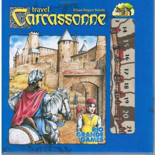 Rio Grande Games Carcassonne Travel Edition ()