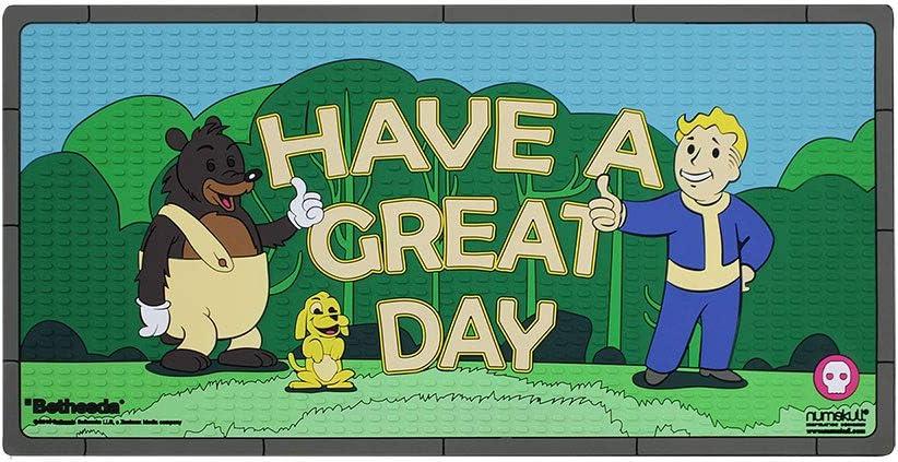 Numskull Fallout Door Mat/Floor Mat 'Have a Great Day'