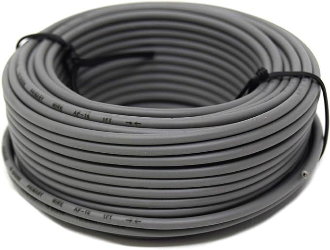 16 GA 50/' Black Audiopipe Car Audio Home Remote Primary Cable Wire