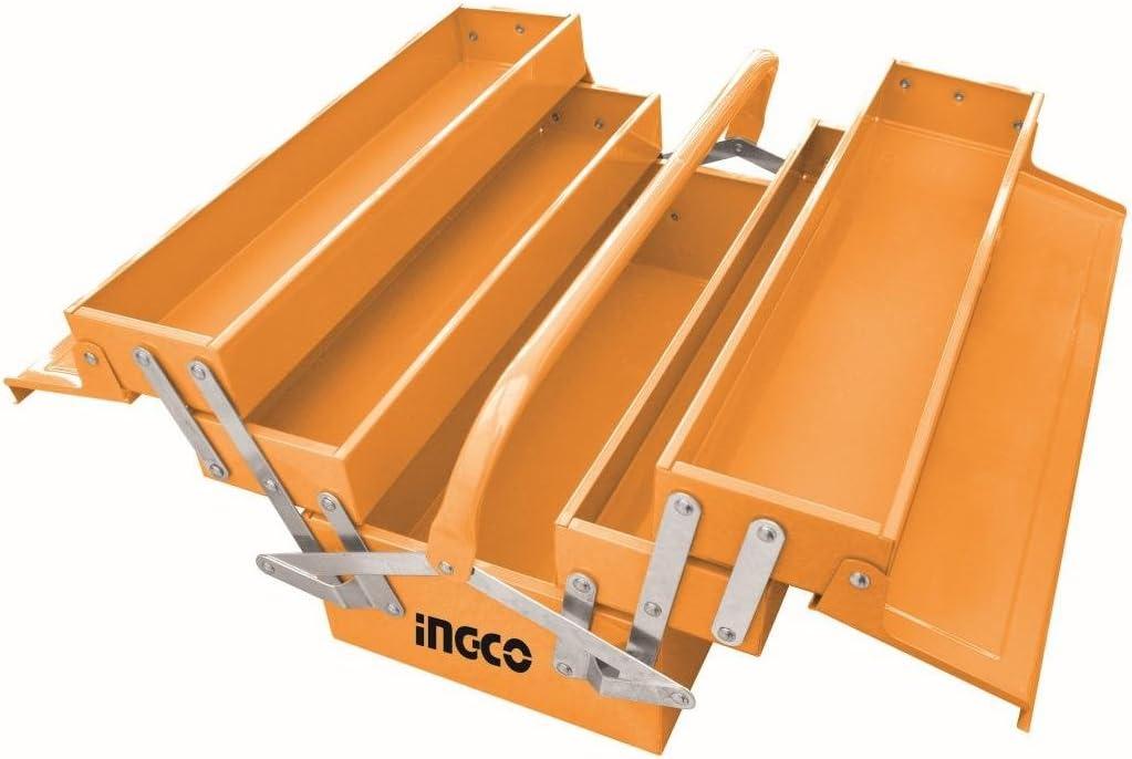 Ingco - Caja Metalica Htb03: Amazon.es: Bricolaje y herramientas